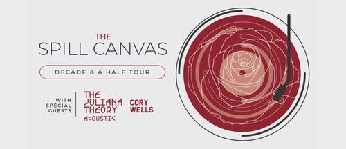 "The Spill Canvas' ""Sunsets & Car Crashes"" 15-year Anniversary Tour"