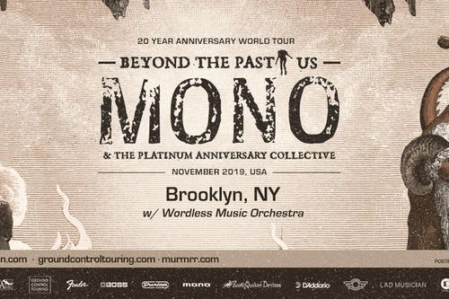 MONO w/ Wordless Music Orchestra