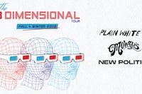 Plain White T's, The Mowgli's & New Politics – The 3 Dimensional Tour