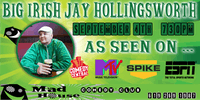 Jay Hollingsworth as seen on Comedy Central, MTV, ESPN & more!