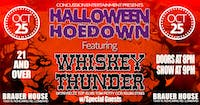 Halloween Hoedown with Whiskey Thunder & The Gory Details at Brauer House