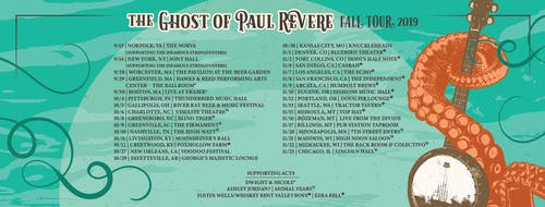 The Ghost of Paul Revere with Animal Years and More TBA