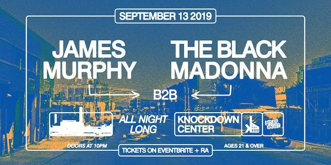 James Murphy b2b The Black Madonna