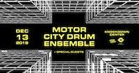 Motor City Drum Ensemble