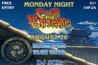 Monday Night Club Knights