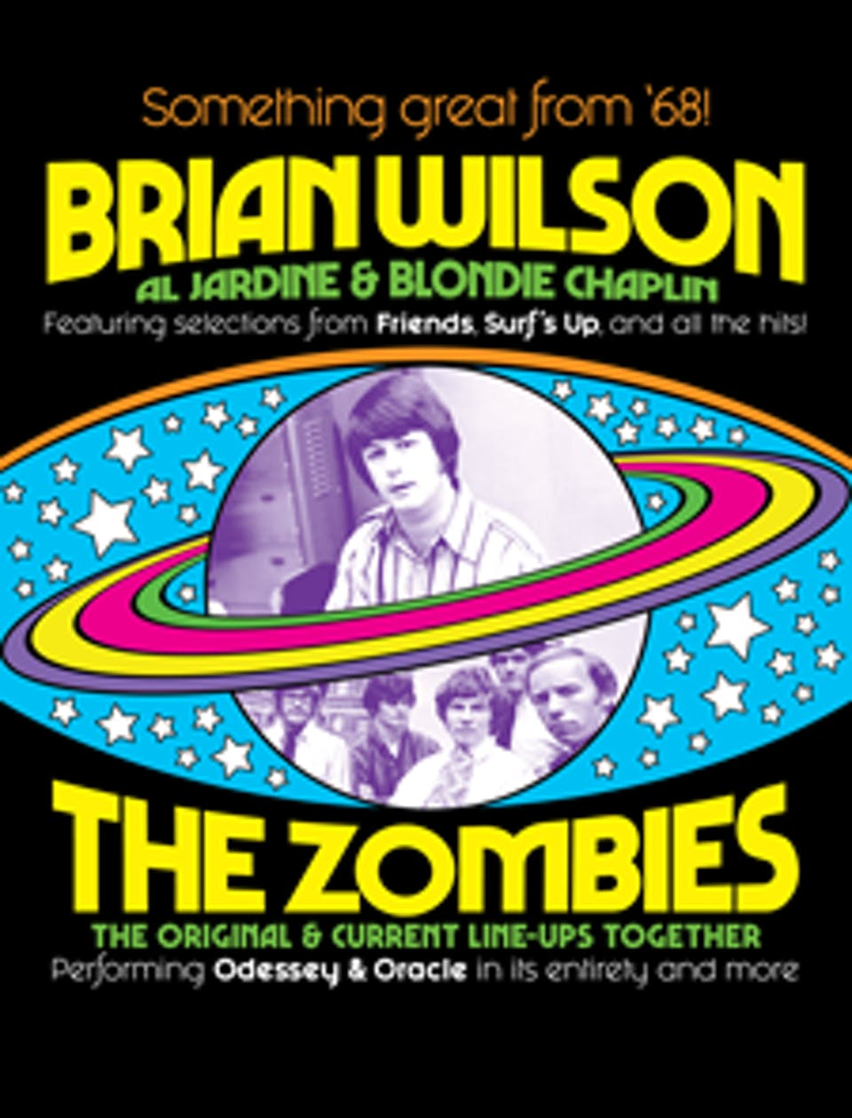Brian Wilson and The Zombies: Something Great From '68 Tour