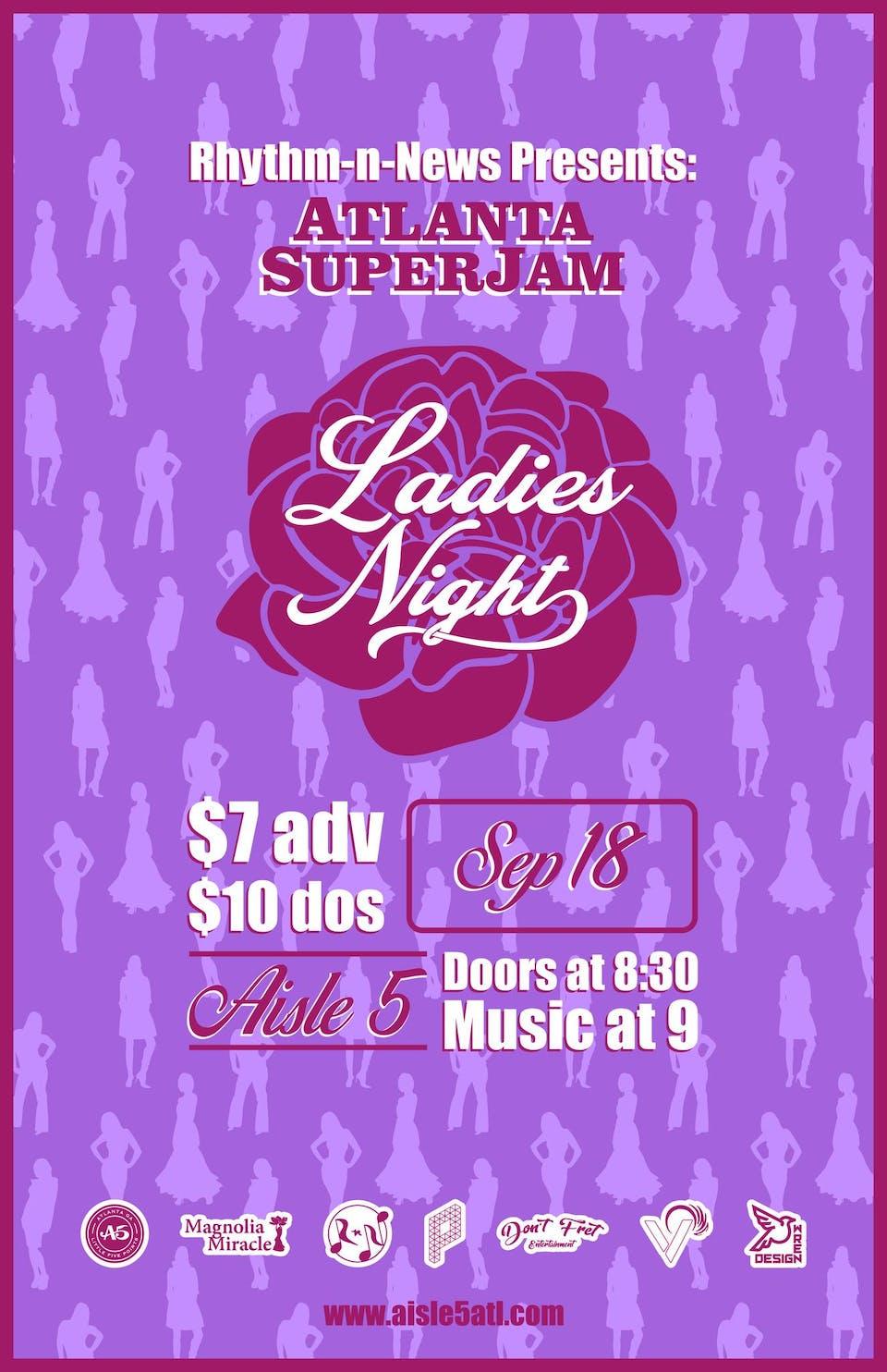Atlanta SuperJam : Ladies Night