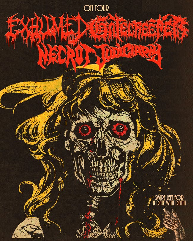Gatecreeper, Exhumed, Necrot, and Judiciary