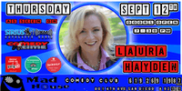 Laura Hayden as seen on Comedy Time Tv, Sirus XM and more!