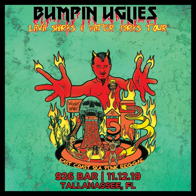 Bumpin Uglies: Lava Sharks & Water Parks Tour,  Sway Jah Vu, Trial By Stone