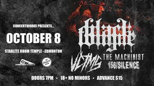 Black Tongue with VCTMS, The Machinist & 156 Silence