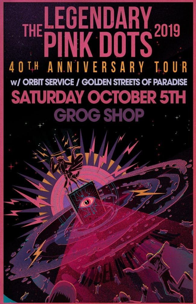 The Legendary Pink Dots  - 40th Anniversary Tour w/ Orbit Service