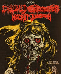 Exhumed and Gatecreeper with Necrot, Judiciary