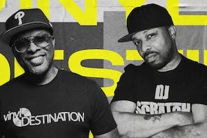 VINYL DESTINATION 45 TOUR FEATURING DJ JAZZY JEFF & DJ SCRATCH