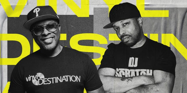 VINYL DESTINATION 45 TOUR FEATURING DJ JAZZY JEFF & DJ SCRATCH