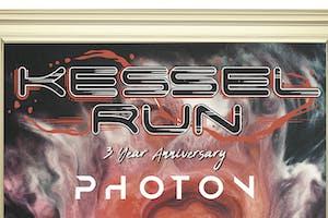 KESSEL RUN - 3 YEAR ANNIVERSARY with PHOTON, MOUNTAIN ROSE MUSIC