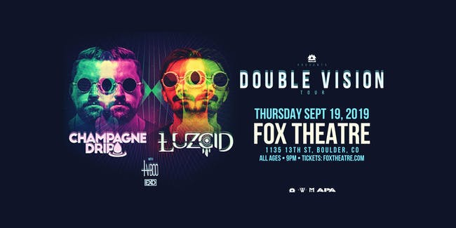 """DOUBLE VISION"" TOUR - CHAMPAGNE DRIP + LUZCID with TVBOO, EXO"