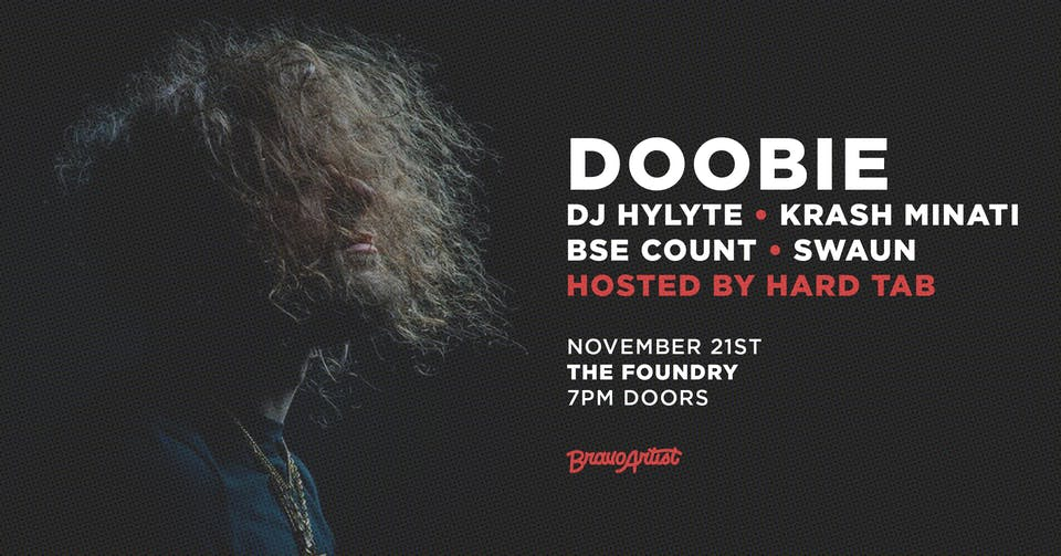 Doobie @ The Foundry (11/21)