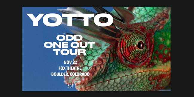 YOTTO PRESENTS ODD ONE OUT TOUR