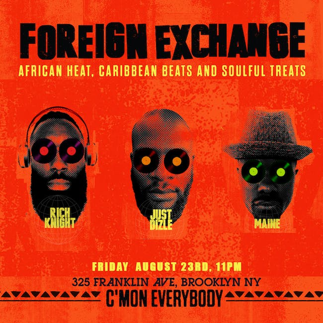 Foreign Exchange with Rich Knight, Just Dizle, Maine