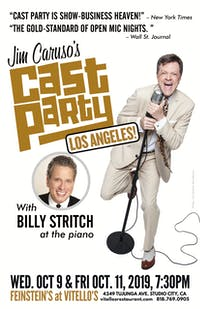 Jim Caruso's Cast Party with Billy Stritch on piano!