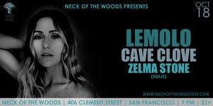 Lemolo, Cave Clove, Zelma Stone