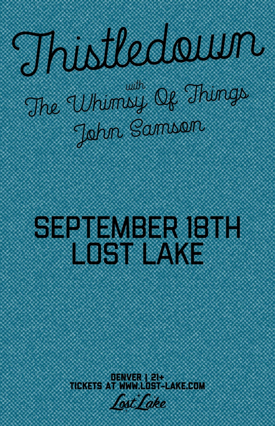 Thistledown / The Whimsy of Things / John Samson