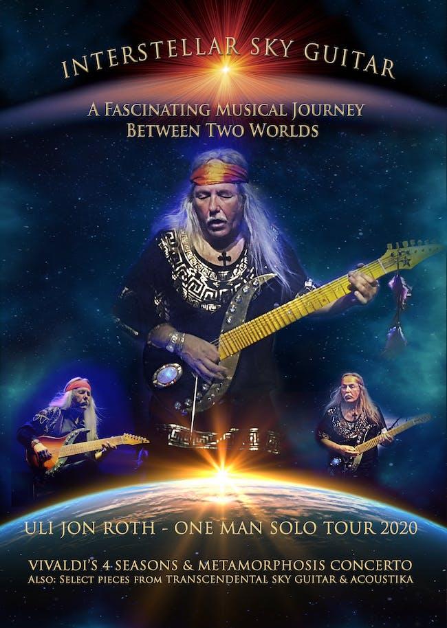 Uli Jon Roth Interstellar Sky Guitar tour