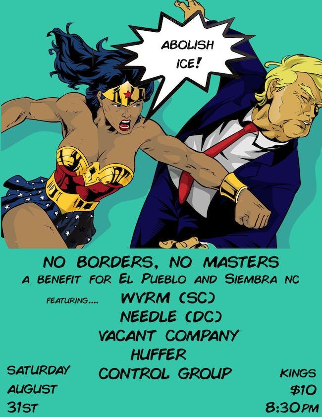No Borders, No Masters: A Benefit for El Pueblo and Siembra NC