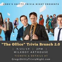 """""""The Office"""" Trivia Brunch 2.0"""