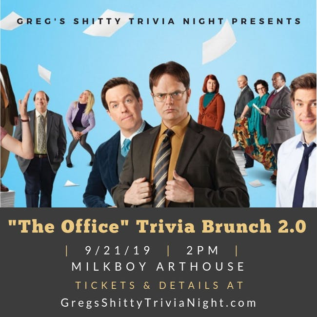 """The Office"" Trivia Brunch 2.0"