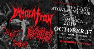 IMMOLATION with BLOOD INCANTATION, BEGRIME & IDOLATRY