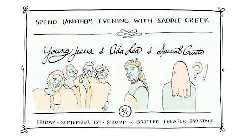 Young Jesus + Ada Lea + Special Guests