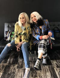 Cherie Currie and Brie Darling ~ The Droogettes ~ Vixen77