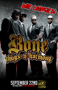 Bone Thugs-N-Harmony at Mesa Theater