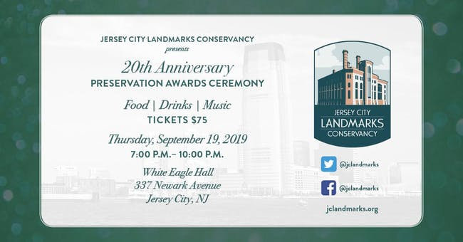 20th Anniversary Preservation Awards Ceremony