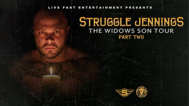 Struggle Jennings - The Widows Son Tour