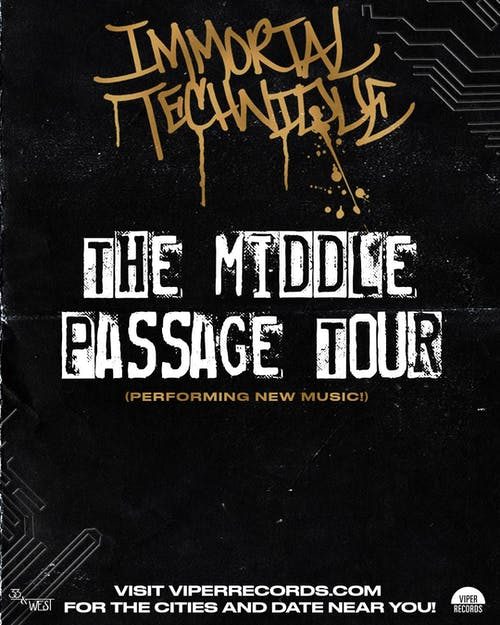 Immortal Technique:  The Middle Passage Tour