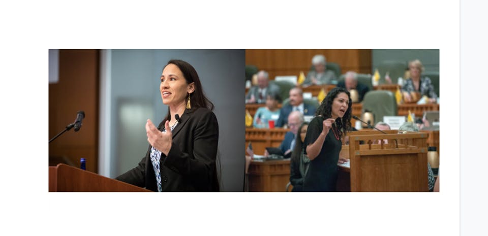 A Conversation w/ Congresswomen Sharice Davids & Xochitl Torres Small