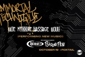 Immortal Technique - The Middle Passage Tour