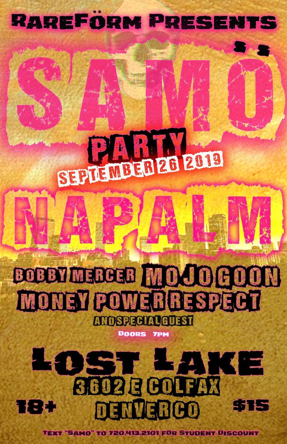 NaPalm / Bobby Mercer / Mojo Goon / Money Power Respect