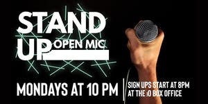 Stand Up Open Mic