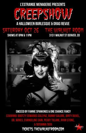 CreepShow: A Halloween Burlesque & Drag Revue