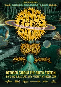 Rings of Saturn - The Gidim Release Tour