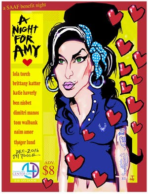 A Night For Amy Benefit @ 191 Toole