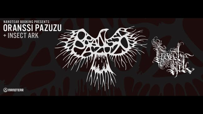 Oranssi Pazuzu with Insect Ark & Ails