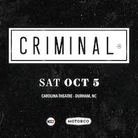 Criminal Podcast Live Show (at The Carolina Theatre of Durham)
