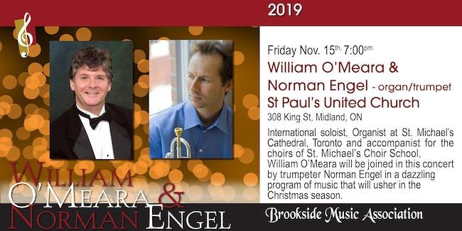 William O'Meara & Norman Engel - organ/trumpet