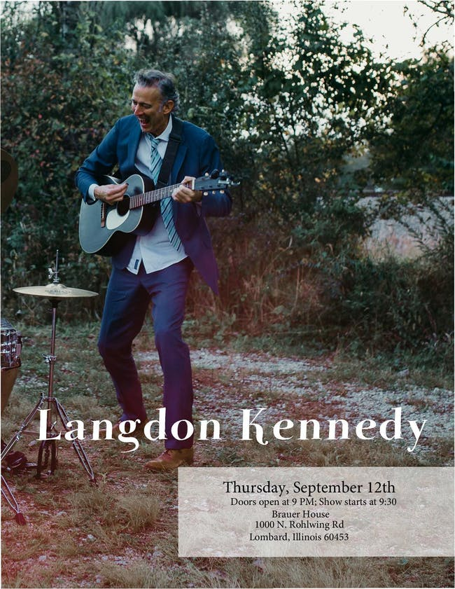 Langdon Kennedy at Brauer House