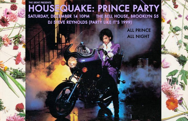 HOUSEQUAKE: PRINCE PARTY